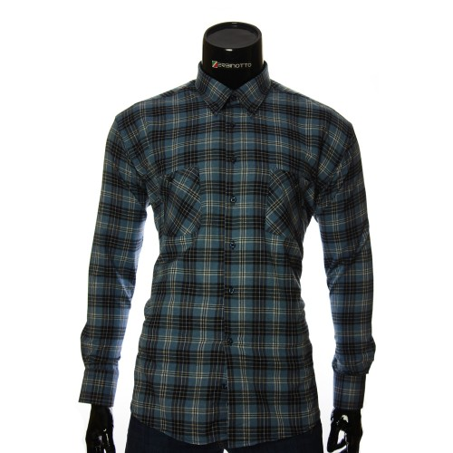 Men`s Regular Fit chekered shirt RNM 1851-1