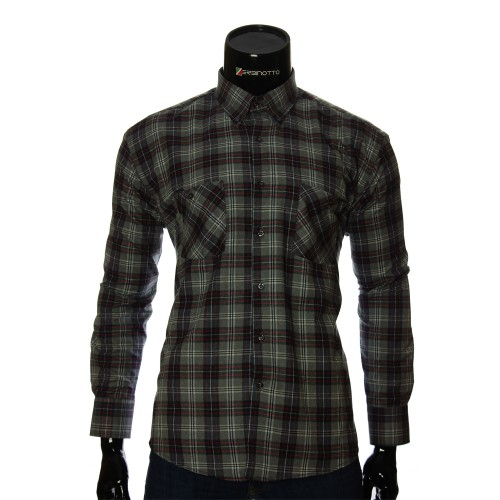 Men`s Regular Fit chekered shirt RNM 1851-3