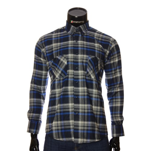 Men`s Regular Fit chekered shirt RNM 1851-4