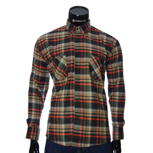 Men's flannel chekered shirt RNM 1851-6