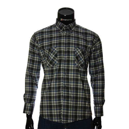 Men's flannel chekered shirt RNM 1851-8