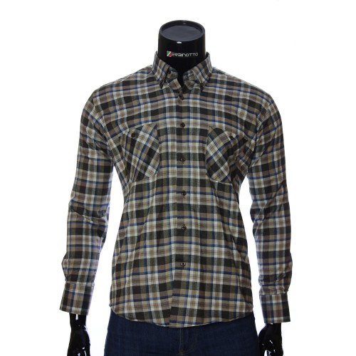 Men`s Regular Fit chekered shirt RNM 1851-9