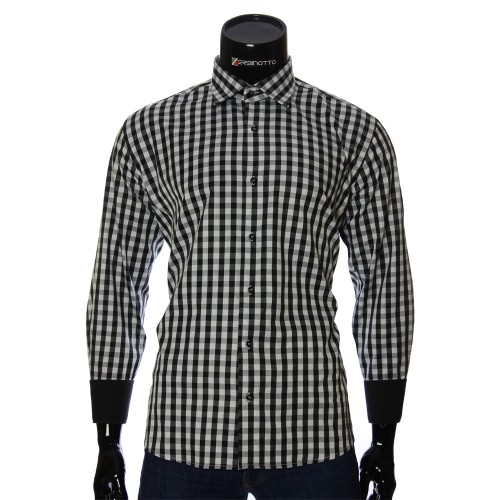 Men`s Regular Fit plaid shirt RNM 1845-21