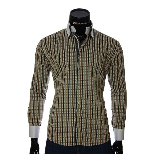 Men`s Regular Fit plaid shirt W 1881-6