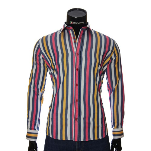 Men`s Regular Fit striped shirt LP 1884-23