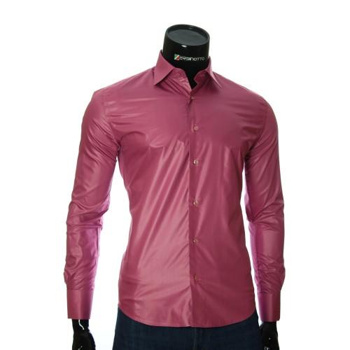 Мужская рубашка под запонки ZB 26226