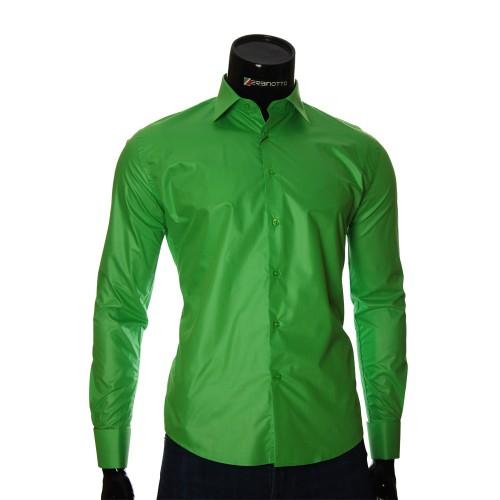 Мужская рубашка под запонки ZB 27096