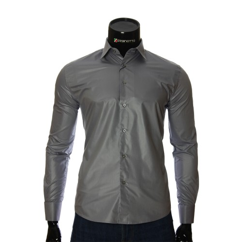 Men`s Slim Fit plain shirt ZB 29260