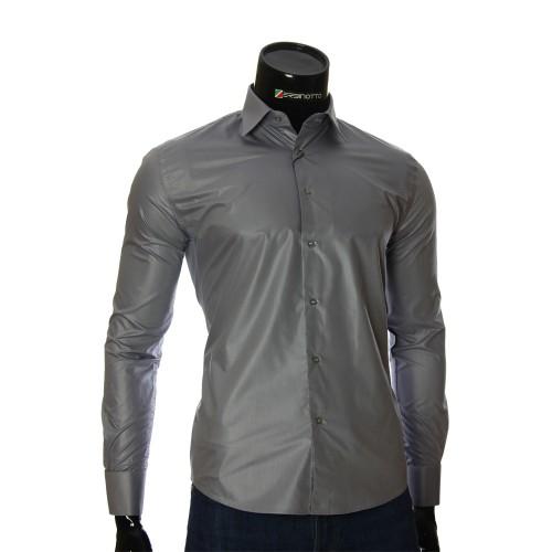 Мужская рубашка под запонки ZB 29260