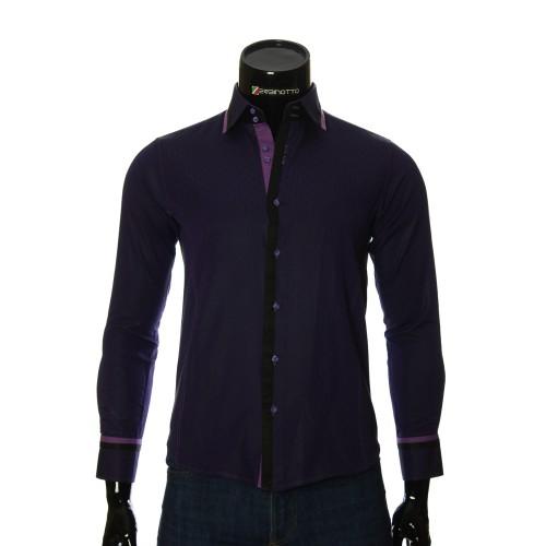 Men`s Slim Fit pattern shirt BEL 1856-8
