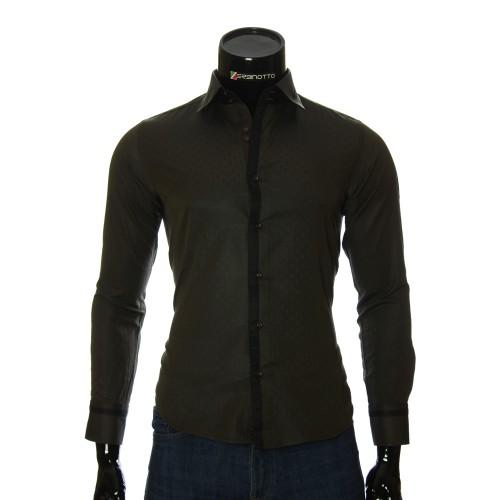 Men`s Slim Fit pattern shirt BEL 1856-9