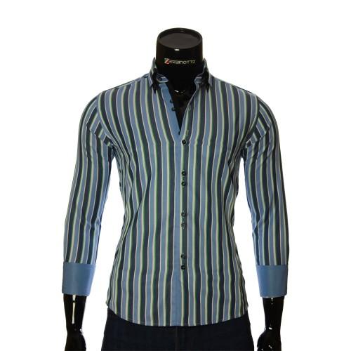 Men`s Slim Fit striped shirt BEL 1880-9