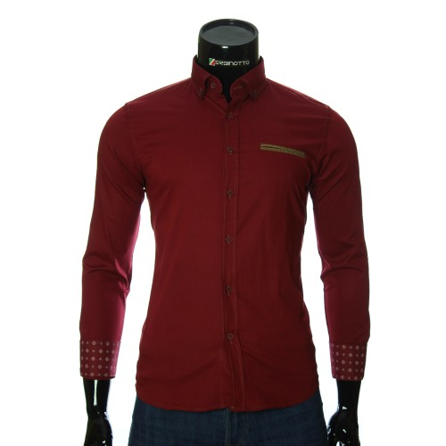 Pure Cotton Plain Shirt NP 2908-1