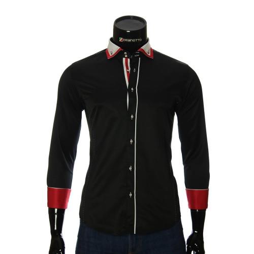 Satin Cotton Plain Shirt MM 1917-3