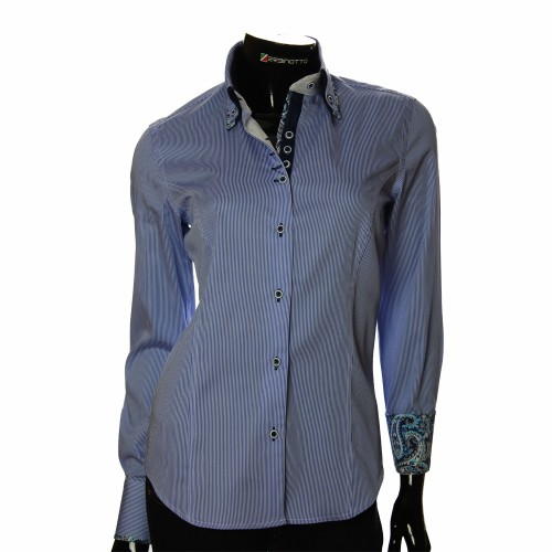 Pure Cotton Striped Shirt IMK 1029-6