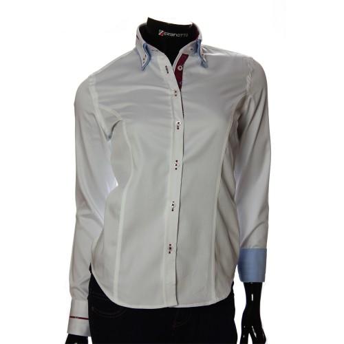 Women`s Slim Fit plain shirt DMN 1023-2