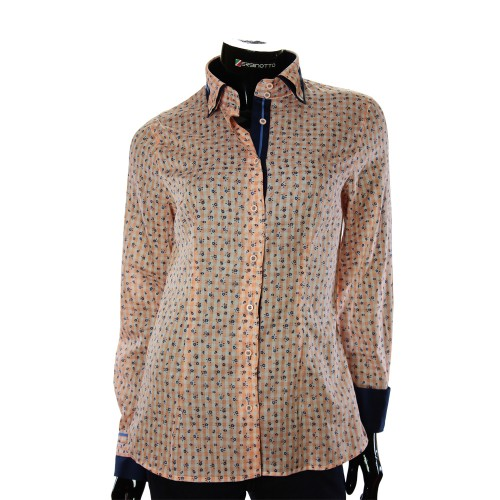 Cotton Rich Pattern Shirt LF 1031-3