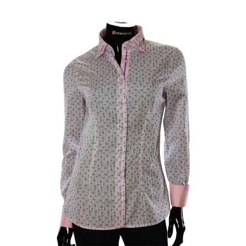 Cotton Rich Pattern Shirt LF 1031-1