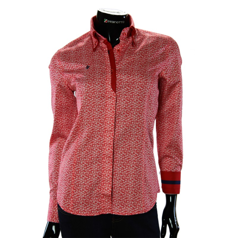Satin Cotton Women`s Shirt TNL 1032-1