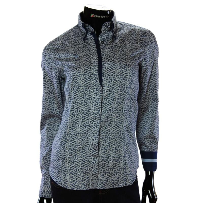 Satin Cotton Women`s Shirt TNL 1032-2