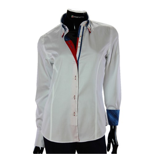 Satin Cotton Plain Shirt TNL 1034-4