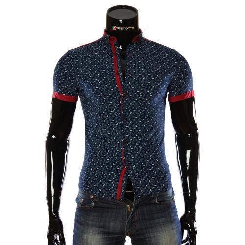 Men's pattern shirt Short Sleeve LL 1016-3