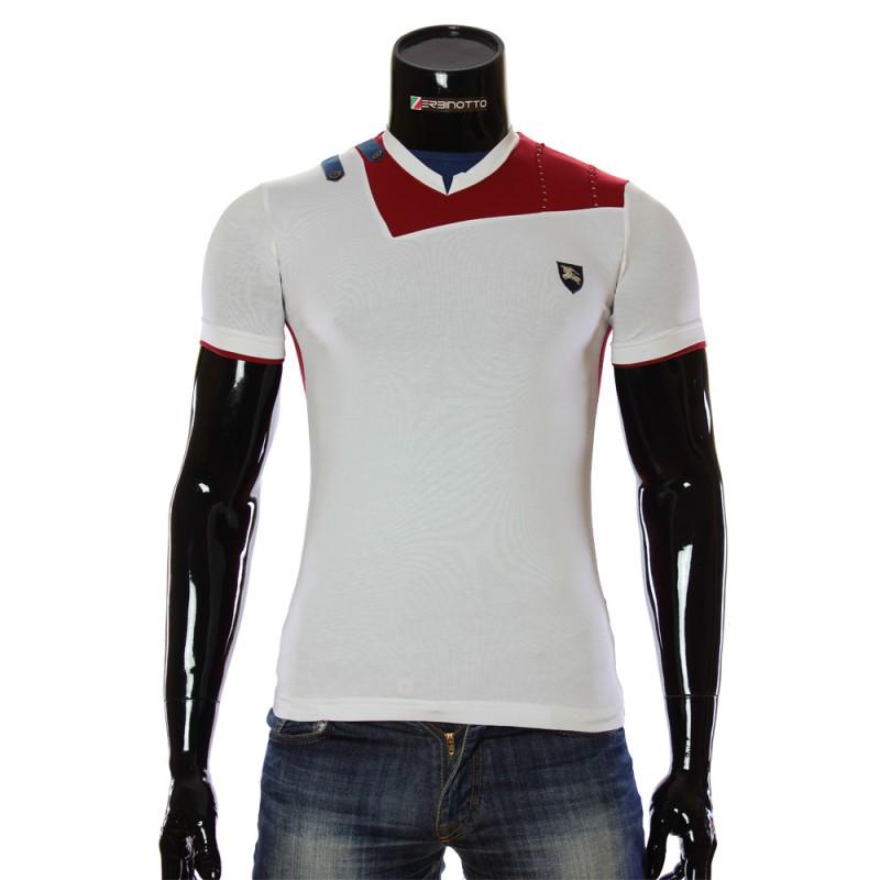 Чоловіча біла футболка AR 5003-5. Купити футболку недорого. d0ff0b6c1c2f9