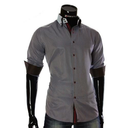 Чоловіча сорочка в клітинку CC 1953-2