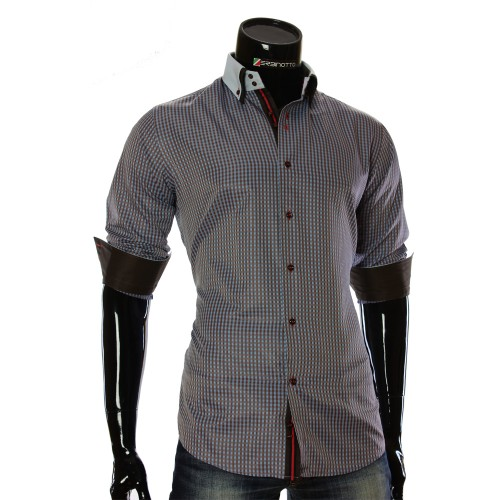 Men`s checkered shirt CC 1953-2