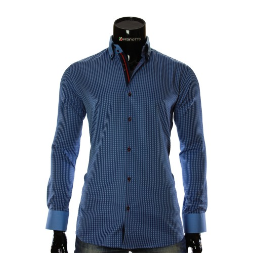 Men`s checkered shirt CC 1953-3