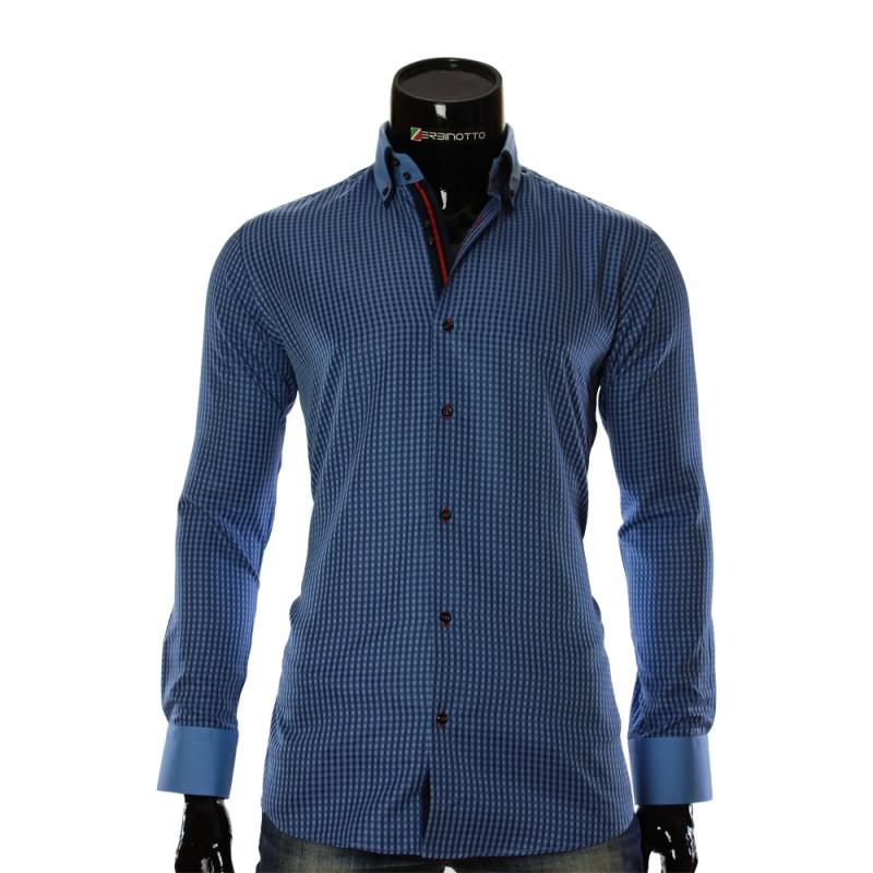 Мужская рубашка в клетку CC 1953-3