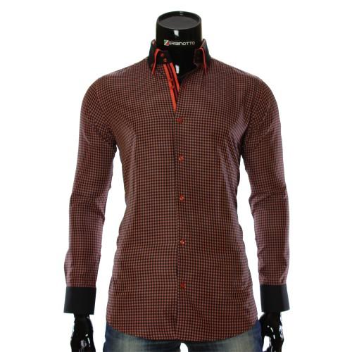 Чоловіча сорочка в клітинку CC 1953-4