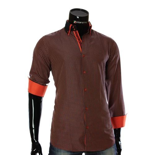 Мужская рубашка в клетку CC 1953-4