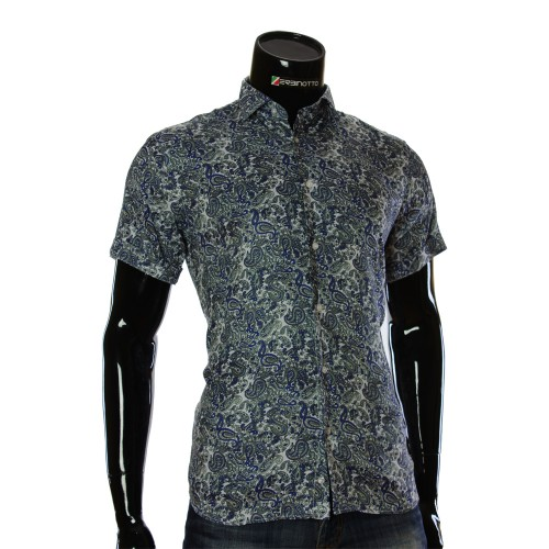 Men's pattern shirt Short Sleeve RV 1950-1