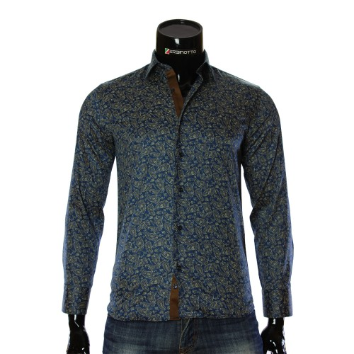 Cotton Print Pattern Shirt RV 1952-2