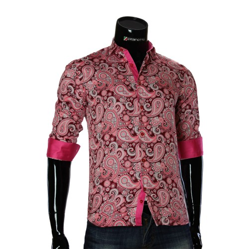 Cotton Print Pattern Shirt RV 1952-3