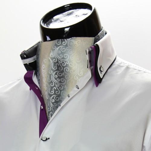 Мужской шейный платок аскот RM9030-10