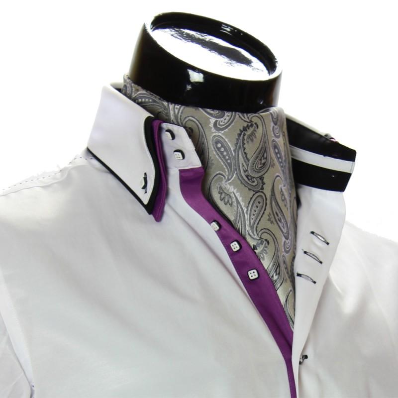 Мужской шейный платок аскот RM9030-16