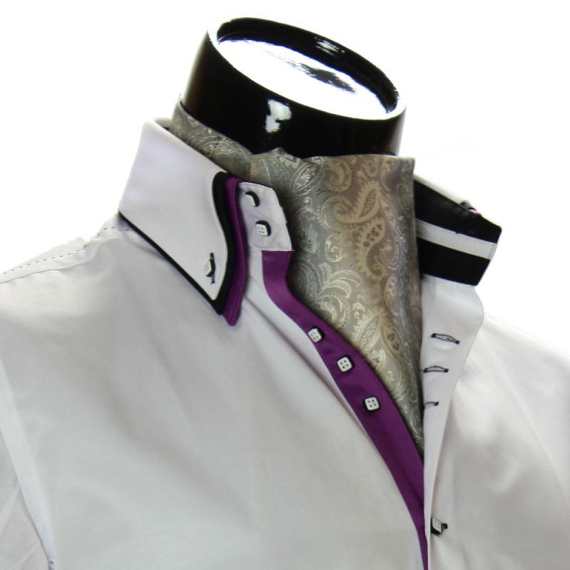 Мужской шейный платок аскот RM9030-19