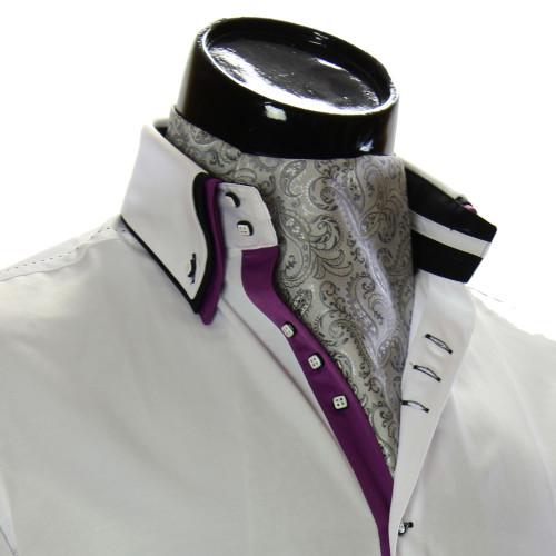 Мужской шейный платок аскот RM9030-26