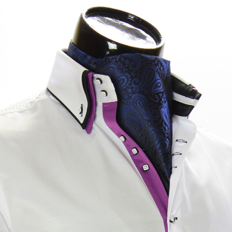 Мужской шейный платок аскот RM9030-27