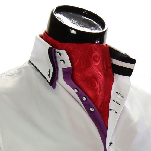 Мужской шейный платок аскот RM9030-29