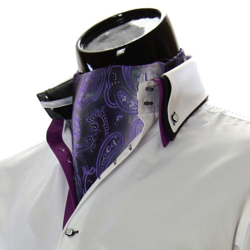 Мужской шейный платок аскот RM9030-30