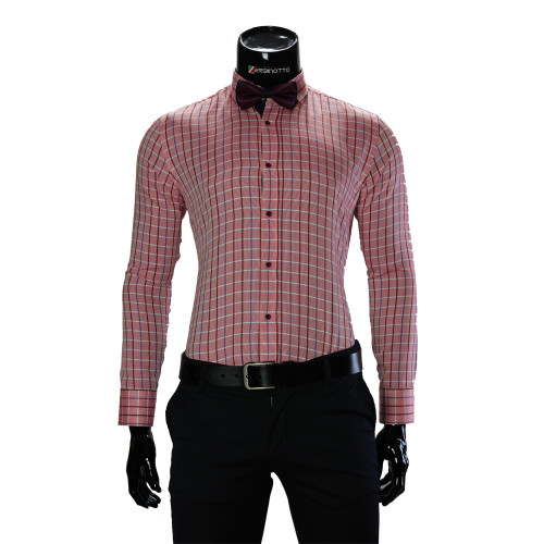 Pure Cotton Checkered Stretch Shirt RV 1955-6