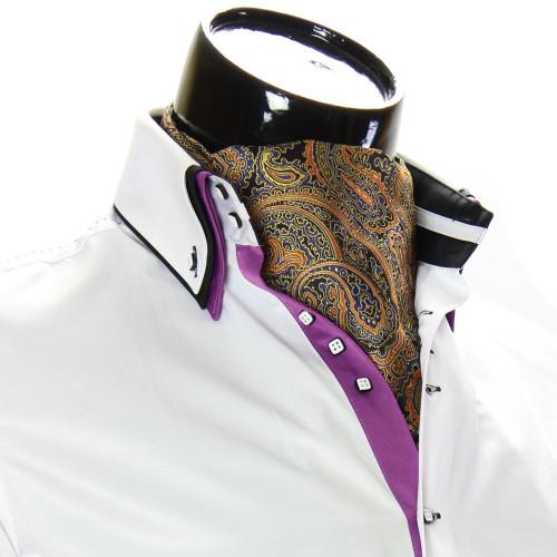 Мужской шейный платок аскот CH 9050