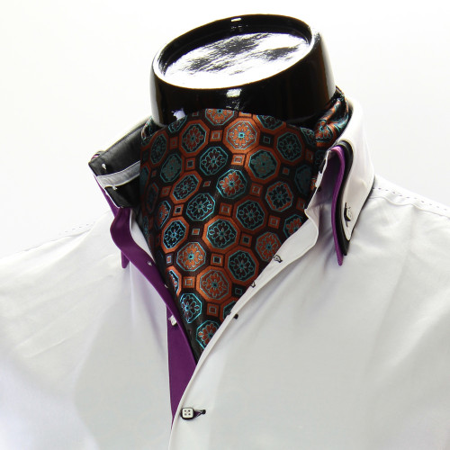 Чоловіча краватка Аскот на шию CH 9050-2