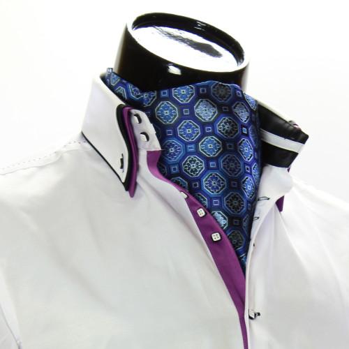 Men`s Floral Paisley Ascot Cravat CH 9050-3