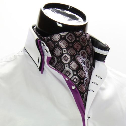 Men`s Floral Paisley Ascot Cravat CH 9050-4