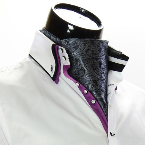 Мужской шейный платок аскот CH 9050-7