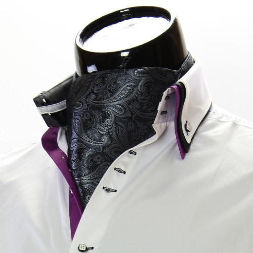 Men`s Floral Paisley Ascot Cravat CH 9050-7